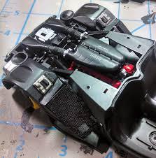 laferrari engine king s hobby shop tamiya la build review by johnny seaman