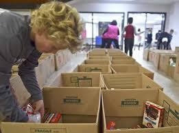 warrenton volunteers provide well fed thanksgiving weekend local