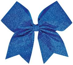 hair bow chassé glitter performance hair bow omni cheer