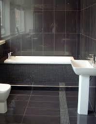 black tile bathroom floor z co