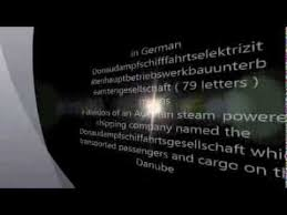 the longest words in different languages youtube