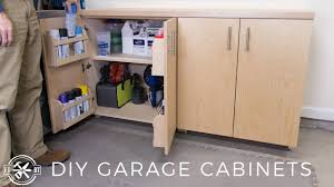 is it cheaper to build your own cabinets diy garage cabinets for shop organization