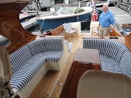 Interior Boat Cushion Fabric Boat Cushions For Hinckley Yacht Talaria Outdoor Boat Fabrics Yelp