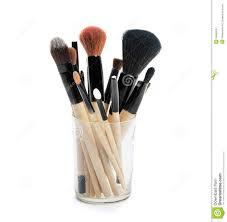 professional makeup brushes royalty free stock photography image