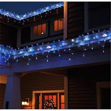 new year 4m 110v 220v 96 led icicle string light