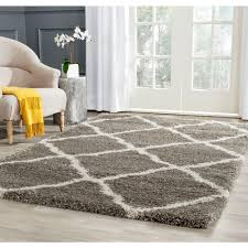 6 X 7 Area Rug Flume Black Taupe 5 Ft 3 In X 7 Ft 6 In Area Rug 242676 The