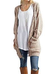 cardigan sweaters womens cable knit open front cardigan sweaters with pockets