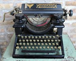 woodstock typewriter no 5 made in chicago museum