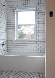 Subway Tiles In Bathroom White Subway Tile Tub Surround Ideas And Pictures