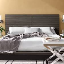 Headboard Bed Frame Bed Frame And Headboard Wayfair