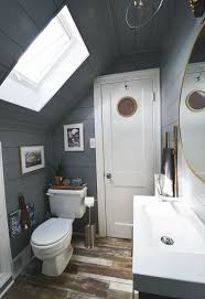 small attic bathroom ideas tiny attic bathroom gets a diy update hometalk