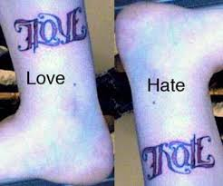 36 meaningful ambigram tattoos