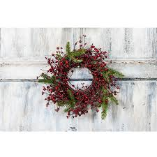 berry wreath small mixed berry wreath with fir branches 612421141004 ebay