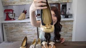 shoes haul tory burch wedge coach malika print flat mystiqul