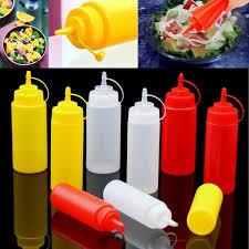 huile cuisine 8 24 oz cuisine en plastique bouteille squeeze huile sauce ketchup