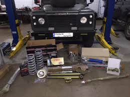 lifted land rover defender lebanonoffroad com u2013 for sale terrafirma 4 u2033 lift for land rover