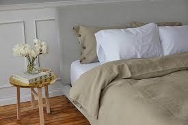 stonewashed linen sheet set