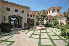 mediterranean house plans with courtyards valine