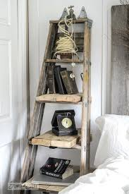 How To Build A Corner Bookcase Step By Step Side Table Ladder Side Table How To A In Planter Wooden Bedside