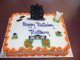 halloween sheet birthday cakes u2013 festival collections