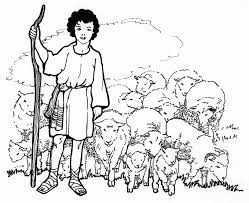 shepherd boy fantasy coloring pages coloring home