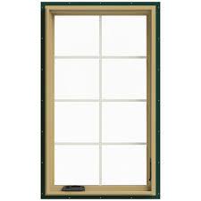 andersen 28 375 in x 48 in 400 series casement wood window with
