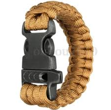 survival bracelet with whistle buckle images Paracord bracelet wristband hiking outdoor survival buckle cord jpg