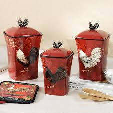 rooster canisters kitchen products 34 best canister collector images on kitchen stuff