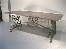 wrought iron pedestal table base home design good looking wrought iron dining table bases home with