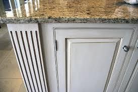 Cabinet Glazing by Kitchen Island Glazing Close Up Finishes Ashley Spencer