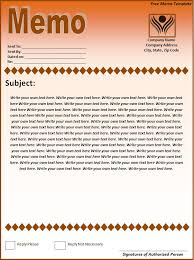 Memo Template Free Free Memo Template Page Word Excel Formats