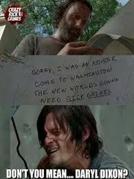 Walking Dead Meme Daryl - pin by chloe clark on walking dead pinterest norman reedus