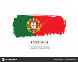 modelo de banner de bandeira de portugal u2014 vetor de stock