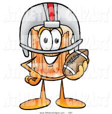 beer cartoon clip art of a sporty beer mug mascot cartoon character in a helmet