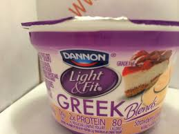 dannon light and fit greek crazy food dude review dannon light fit greek blends strawberry