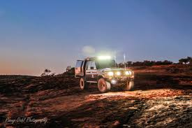 Led Light Bar Australia by Off Road Lights For Your 4 Wheel Drive