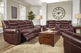 Leather Loveseat Recliner Corinthian Elite Cranberry Reclining Sofa And Loveseat My