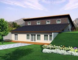 berm house attractive berm house plan 35458gh architectural designs
