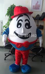 Humpty Dumpty Halloween Costume Mascot Music Picture Detailed Picture Oisk Humpty