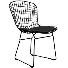 Black Metal Chairs Modern Chair Design Ideas - Metal chair design