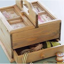 Handmade Wooden Gifts - handmade wooden sewing box gifts for from gift genies