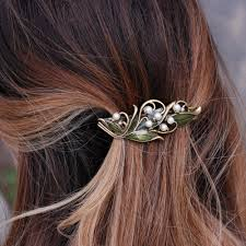 of the valley hair barrette b533 sweet