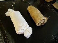 vegan roast stuffed seitan with gravy note