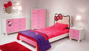 Hello Kitty Bedroom Furniture Home Design Ideas And Pictures - Brilliant white bedroom furniture set house
