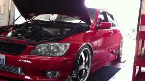 lexus is300 turbo youtube turbo is300 dyno run 409whp youtube