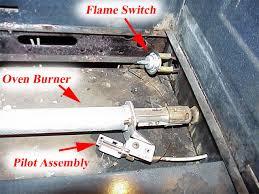 whirlpool oven pilot light gas range diagnostic help