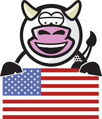 Americas Mood Map by Udderly America Trumoo