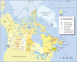 canadian map cities map of canada with all cities major tourist attractions