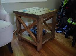 How To Make A Round End Table by Diy Round End Table Ideas