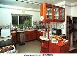 Old Fashioned Kitchen Old Fashioned Fitted Cupboards In A Domestic 1950s Kitchen Built
